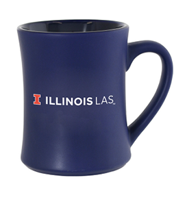 Illinois LAS blue mug
