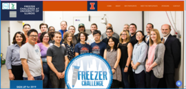 FreezerChallengeUI website