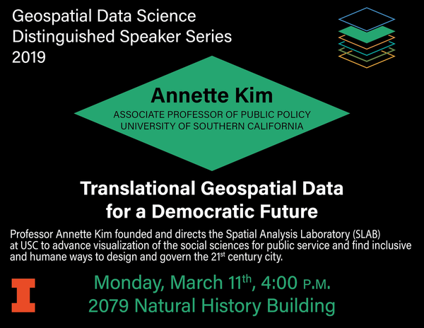 Annette Kim - March 11th at 4pm in 2079 NHB