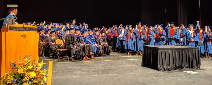 2019 May Chemistry Convocation