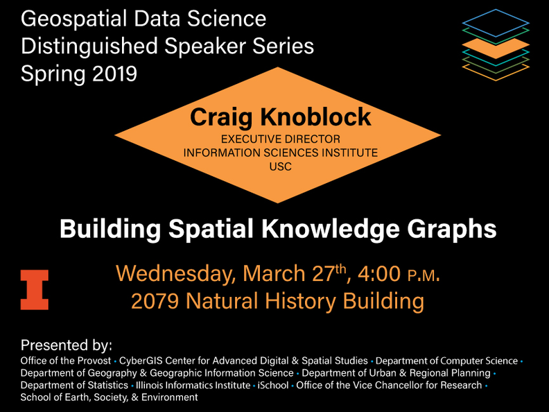 Craig Knoblock - March 27th at 4pm in 2079 Natural History