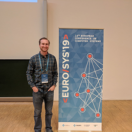 Chance Coats at the EuroSys Conference.