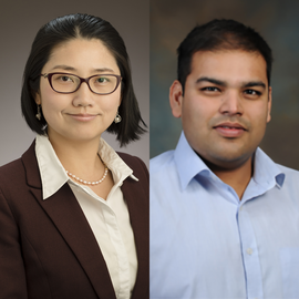 Dr. Mei Shen and Dr. Angad Mehta