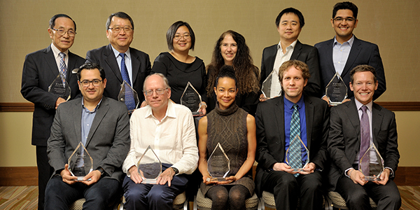Illinois CS recognized 12 outstanding alumni and faculty at the ninth annual Alumni Awards Ceremony.