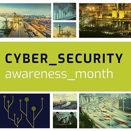 Cybersecurity Awareness Month graphic