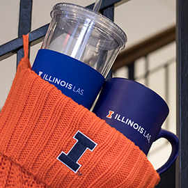 LAS mug and tumbler in stocking