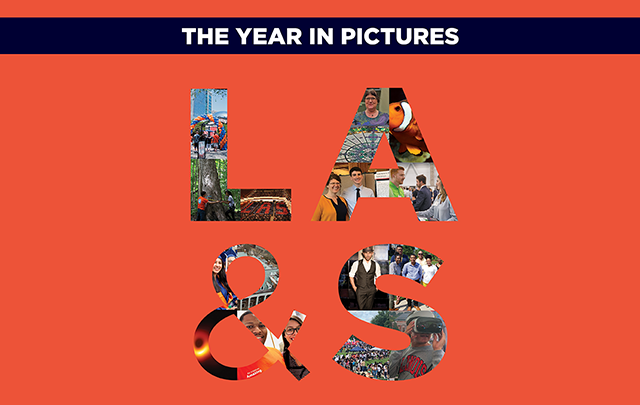 The year in pictures. Images of LAS.
