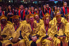 Golden Grads and 2019 graduates celebrated at UIC's December Commencement Ceremony.