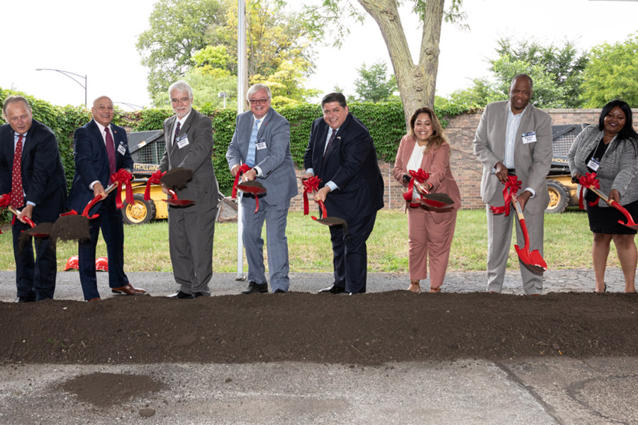 UIC breaks ground on new Computer Design and Research Center