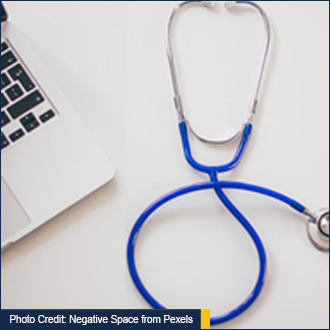 Photo Credit: Negative Space from Pexels and link to source article - Stethoscope pictured