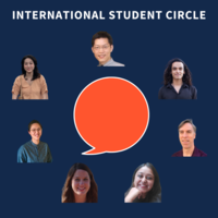 Members of the International Student Outreach Team