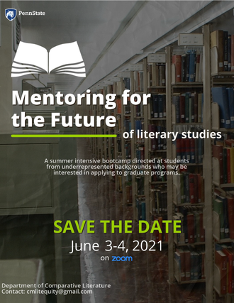 Call for Applications: Mentoring for the Future of Literary Studies