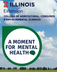 A moment for mental health logo