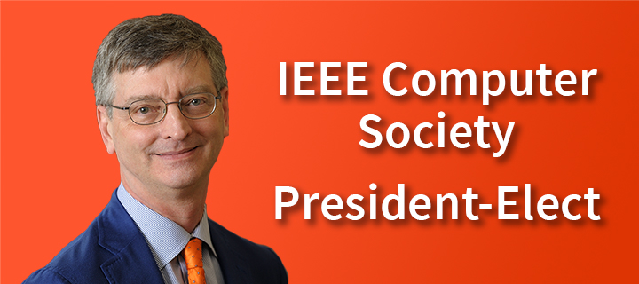 William Gropp will serve as the 2022 president of the IEEE Computer Society.