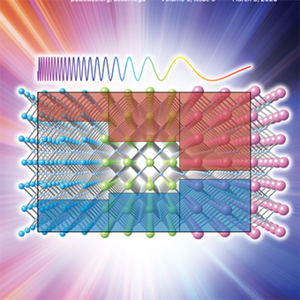 An artist's rendering of a semiconductor.