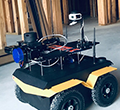 University of Illinois' Rover for Construction. The ground robot maps and learns indoor construction environments and autonomously repeats 3D reality mapping to document construction progress, quality and safety on a regular basis.
