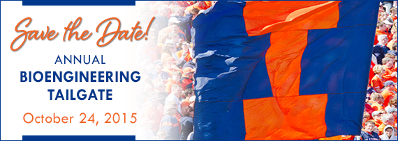 Save the Date for the Annual Bioengineering Tailgate, October 24, 2015.