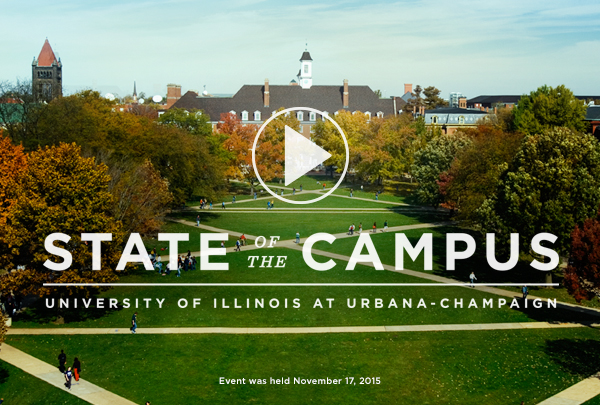 Watch the State of the Campus address