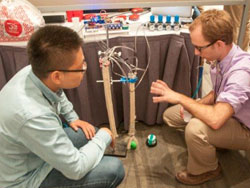 Monolithic Lab Students take third at ASME Robot Competition
