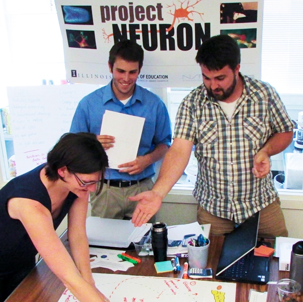 NEURON projects allow students to create real-world curriculum