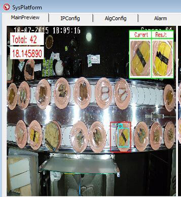 sushi recognition software